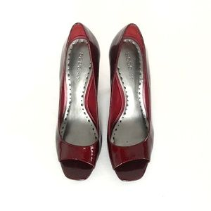 BCBGirls Red Patent Leather Pumps